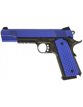 Raven 1911 MEU Gas Blowback Pistol Two Tone