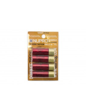 Nuprol 30 Round Shotgun Shells Pack of 4