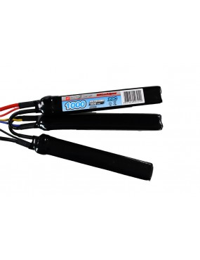 VP Airsoft 11.1V 1000mAh 20C/40C LiPO Crane Stock Battery