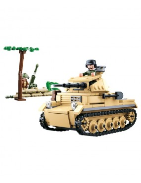 Sluban - B0691 (WWII Small German Tank)