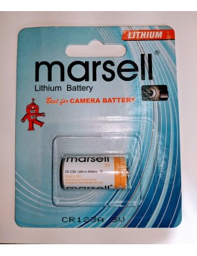 CR123A Lithium Battery - Single Pack