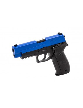 Raven R226 Sig Sauer F226 Two-Tone GBB Airsoft Gas Pistol