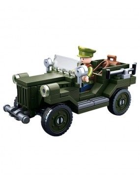 Sluban B0682 WWII Allied Light Truck