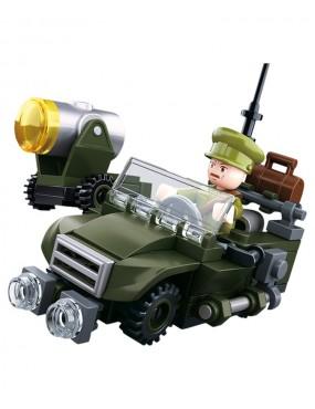 Sluban B0678B WWII Allied Jeep