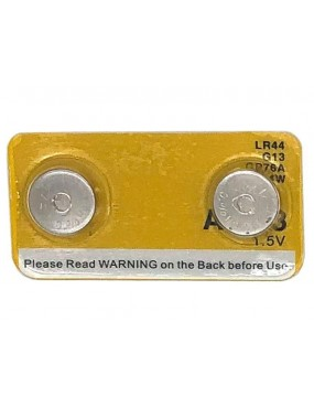 LR44 AG13 Button Cell Battery Twin Pack