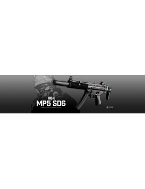 Tokyo Marui MP5 SD6 AEG Airsoft Sub Machine Gun
