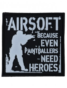 Paintballers Need Heroes Patch