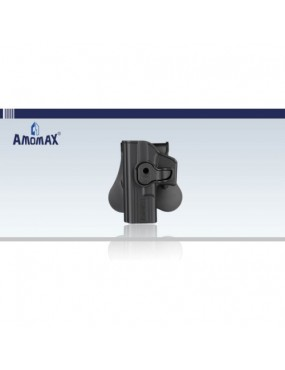 Amomax Left Handed Paddle Holster For Glock...