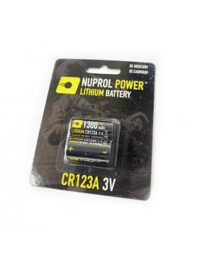 Nuprol CR123A 3V Battery