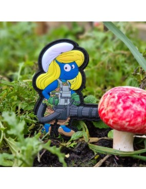 Tactical Smurfette by Titi PVC Patch