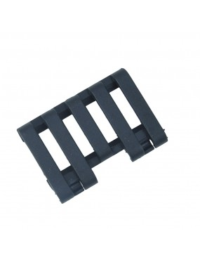 5 Slot RIS Rail Cover with Wire Loom Clips