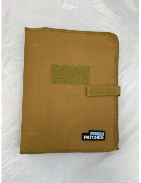 Patch Collector Display Book - Coyote Tan