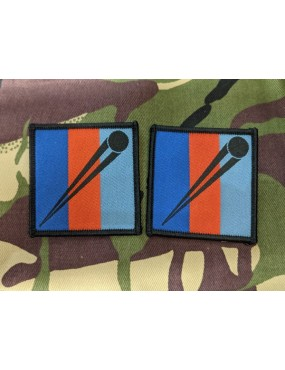 British Military Airsoft TRF Patch - 2 Pack