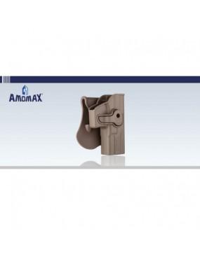 Amomax Paddle Holster For Glock 17/18 Pistols