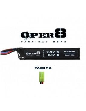 Oper8 7.4v 900mAh Mini LiPo Stick Battery