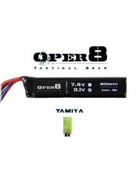 Oper8 11.1v 900mAh Mini LiPo Stick Battery