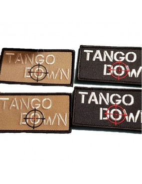 Tango Down UK Embroidered Velcro Backed Morale Patch
