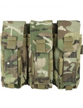 Triple Mag Pouch with Pistol Mag