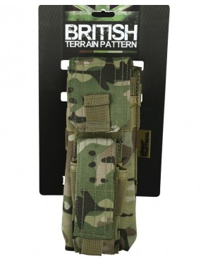 Single Mag Pouch with Pistol Mag Molle