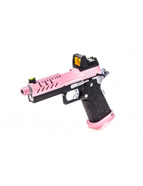 Vorsk Hi-Capa 4.3 + BDS Red Dot Sight Two Tone Pink