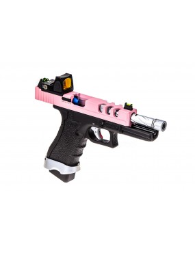 VORSK EU18 G18 Vented + BDS Red Dot Sight Two Tone Pink