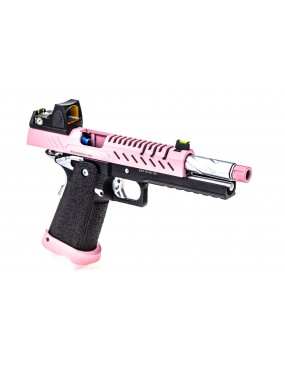 Vorsk Hi-Capa 5.1 + BDS Red Dot Sight Two Tone Pink