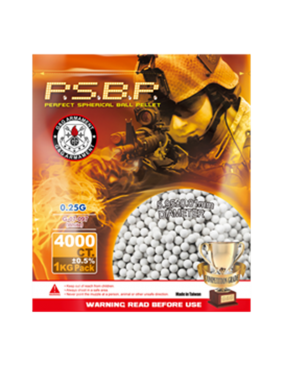 G&G Armament P.S.B.P Competition Grade  0.25g BBs 1KG Bag