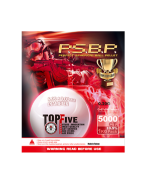 G&G Armament P.S.B.P Competition Grade 0.20g BBs 1KG Bag