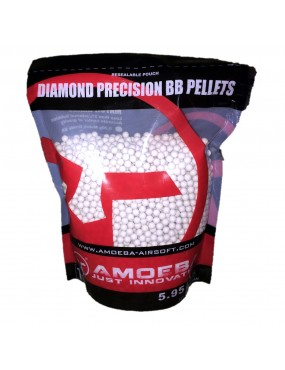Ares Amoeba Diamond Precision 0.25g BBs 1KG Bag