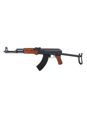 Cyma AK47-S AEG Rifle with Folding Stock + Real Wood Grips