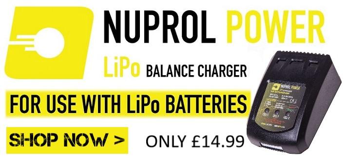 Nuprol NPC-03 LIPO Balance Charger